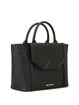 Karl Lagerfeld: totes bags online - K/Klassic saffiano leather tote