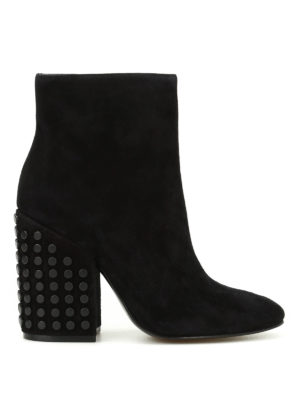 Kendall + Kylie: ankle boots - Baker suede ankle boots