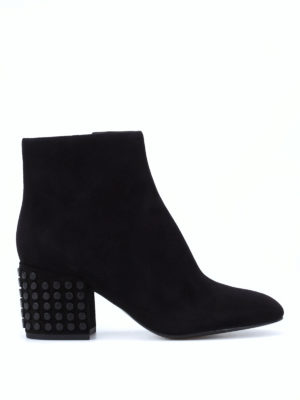 Kendall + Kylie: ankle boots - Blythe suede ankle boots