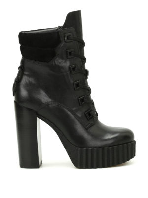 Kendall + Kylie: ankle boots - Coty military combat ankle boots