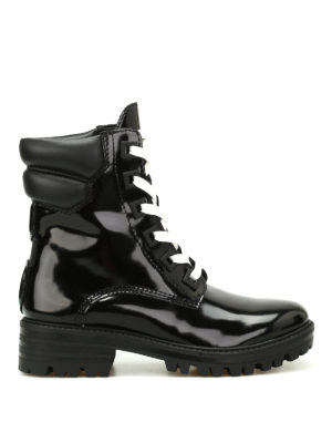 Kendall + Kylie: ankle boots - East patent leather ankle boots
