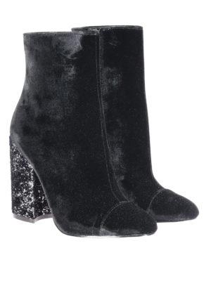 Kendall + Kylie: ankle boots online - Kaden glitter heel booties