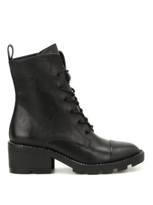 Kendall + Kylie: ankle boots - Park leather combat boots