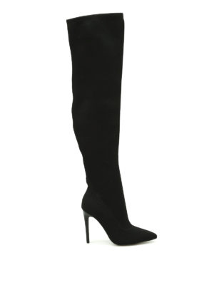 Kendall + Kylie: boots - Anabel over the knee sock boots