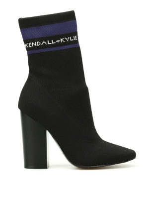 Kendall + Kylie: boots - Hailey stretch sock boots
