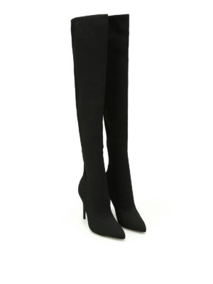 Kendall + Kylie: boots online - Anabel over the knee sock boots
