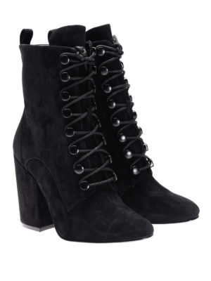 Kendall + Kylie: boots online - Bridget lace-up suede boots