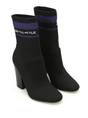 Kendall + Kylie: boots online - Hailey stretch sock boots