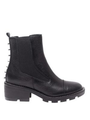 Kendall + Kylie: stivali - Stivaletti Port in pelle con borchie