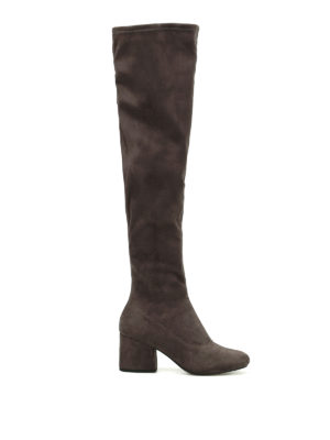Kendall + Kylie: boots - Sophia over the knee sock boots