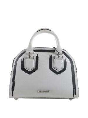 Kendall + Kylie: bowling bags - Holly two-tone bowling bag