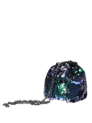 Kendall + Kylie: Bucket bags online - Sequin bucket bag