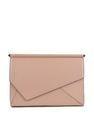 Kendall + Kylie: clutches - Ginza leather clutch