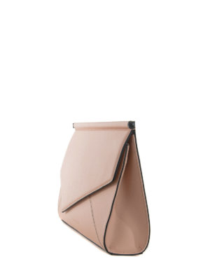 Kendall + Kylie: clutches online - Ginza leather clutch