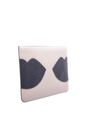 Kendall + Kylie: clutches online - Veronica lips clutch