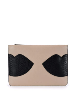 Kendall + Kylie: clutches - Veronica leather pouch