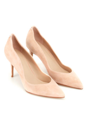 Kendall + Kylie: court shoes online - Brianna nude suede sensual pumps