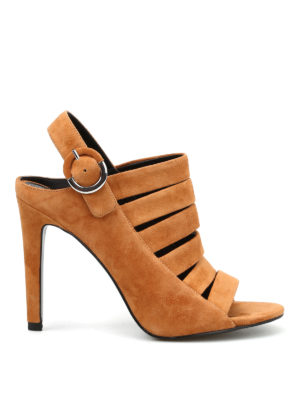Kendall + Kylie: mules shoes - Mia suede mules sandals