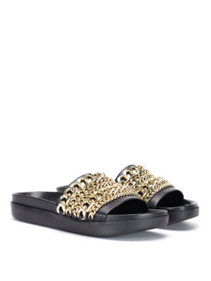 Kendall + Kylie: sandals online - Shiloh chain detail sandals