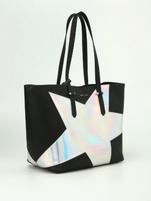 Kendall + Kylie: totes bags online - Izzy Star unlined tote