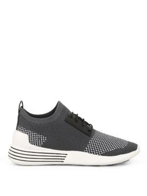 Kendall + Kylie: trainers - Brandy grey slip-on sneakers
