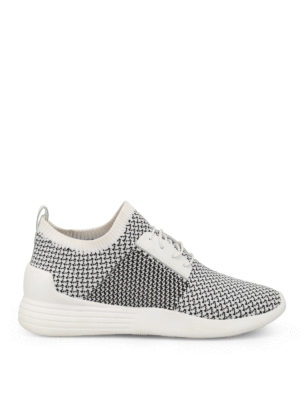 Kendall + Kylie: trainers - Brandy white slip-on sneakers