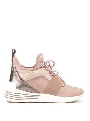Kendall + Kylie: trainers - Braydin high-top neoprene sneakers