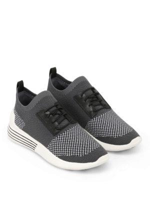 Kendall + Kylie: trainers online - Brandy grey slip-on sneakers