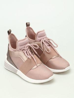 Kendall + Kylie: trainers online - Braydin high-top neoprene sneakers