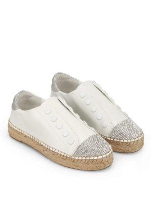 Kendall + Kylie: trainers online - Juniper slip-on leather espadrilles