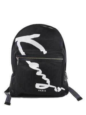 Kenzo: backpacks - Kenzo Signature backpack