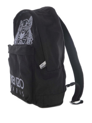 Kenzo: backpacks online - Large Tiger canvas backpack