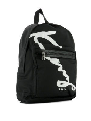 Kenzo: backpacks online - Signature dome backpack