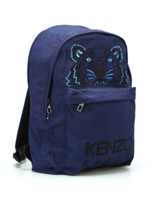 Kenzo: backpacks online - Tiger large canvas backpack