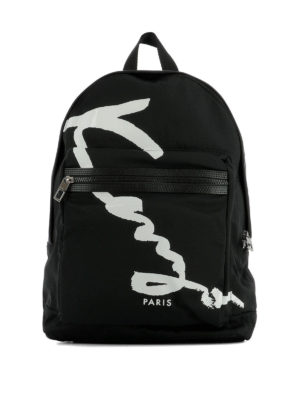 Kenzo: backpacks - Signature dome backpack