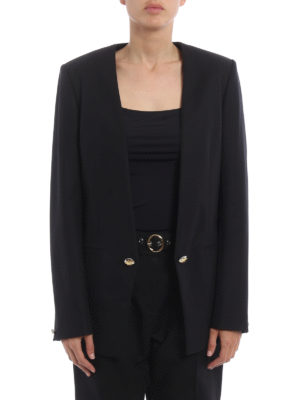 Kenzo: blazers online - Gold button blazer