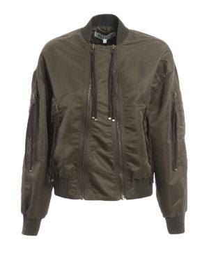 Kenzo: bombers - Elevated Military bomber jacket