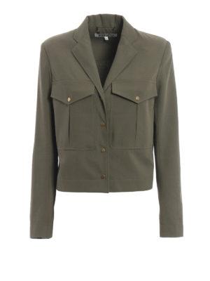 Kenzo: casual jackets - Army style short jacket