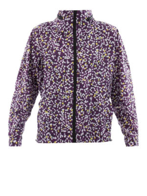 Kenzo: casual jackets - Flower print water resistant jacket