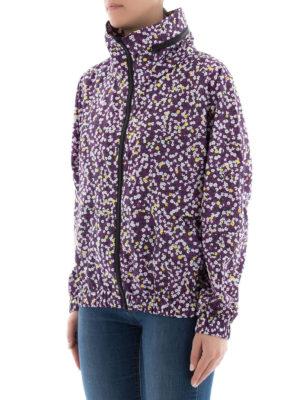 Kenzo: casual jackets online - Flower print water resistant jacket