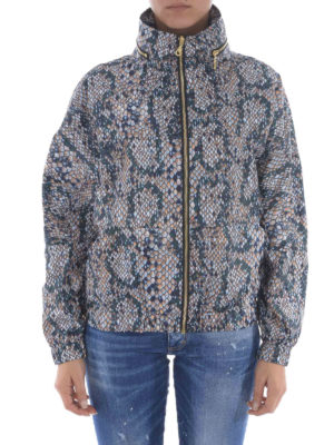 Kenzo: casual jackets online - Snake print windbreaker jacket