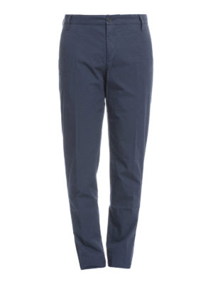 Kenzo: casual trousers - Cotton chino trousers
