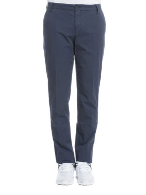 Kenzo: casual trousers online - Cotton chino trousers