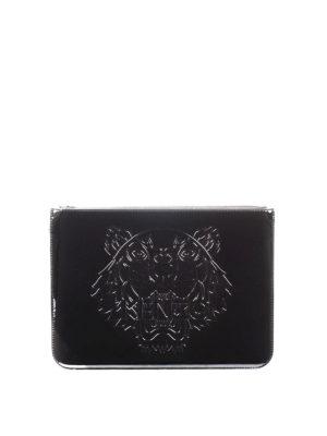 Kenzo: clutches - A4 Tiger clutch