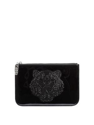 Kenzo: clutches - A5 Tiger flat clutch