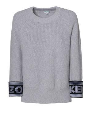 Kenzo: crew necks - Kenzo cotton and wool blend sweater