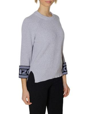 Kenzo: crew necks online - Kenzo cotton and wool blend sweater