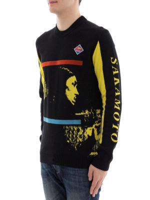 Kenzo: crew necks online - Ryuichi Sakamoto sweater
