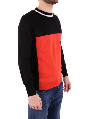 Kenzo: crew necks online - Viscose blend logo detail crew neck