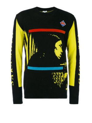 Kenzo: crew necks - Ryuichi Sakamoto sweater